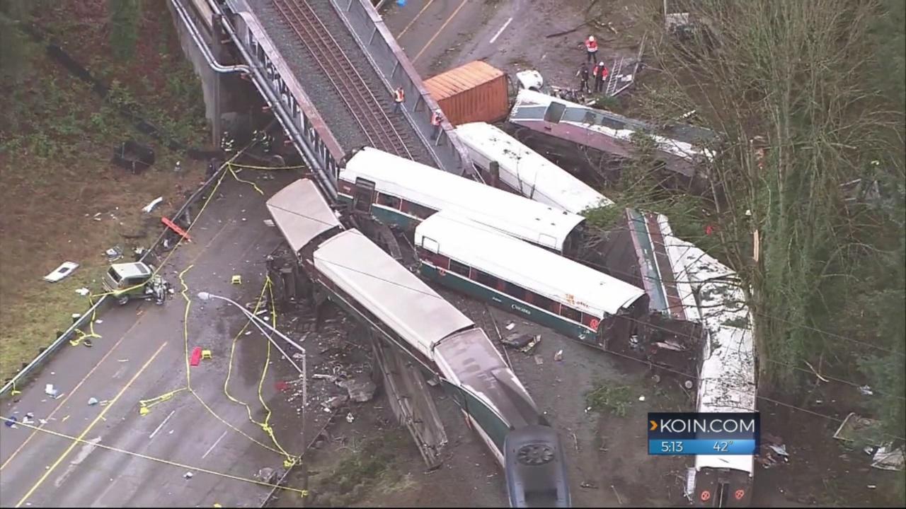 3 sue Amtrak after deadly train derailment