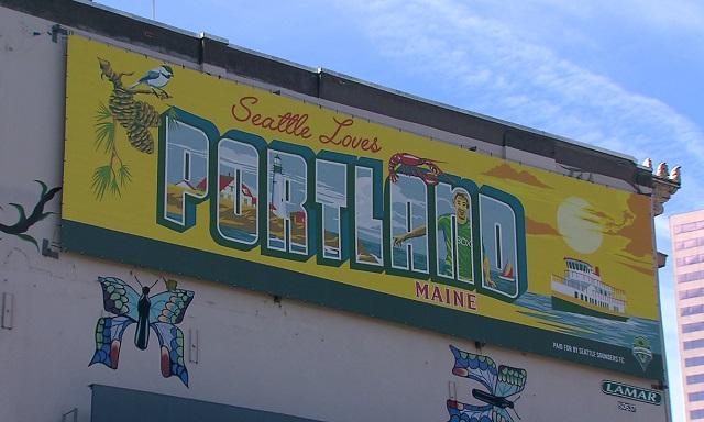 Seattle loves Portland, Maine billboard 2_1530140533448.jpg.jpg