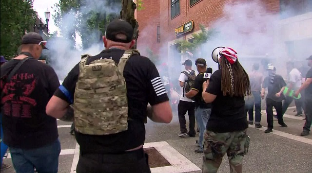 patriot prayer flash bang