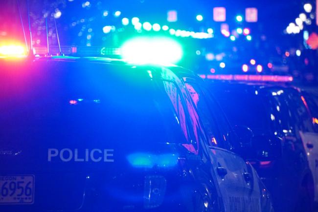 portland police generic police lights