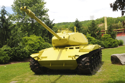 WV Story on lemon-lime painted tank