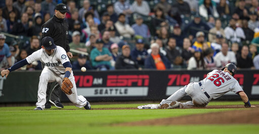 Twins Mariners Baseball_1558074994486
