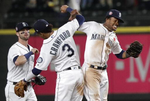 Rangers Mariners Baseball_1559022939008