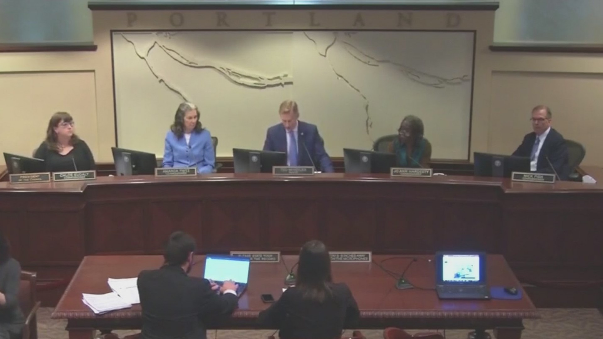 Budget battle brings heated exchange at City Hall
