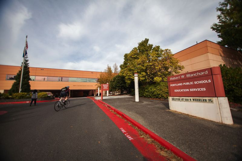 - Portland Public Schools administrative offices in North Portland, where administrators are the subject of two filed lawsuits and one to be fi_285544