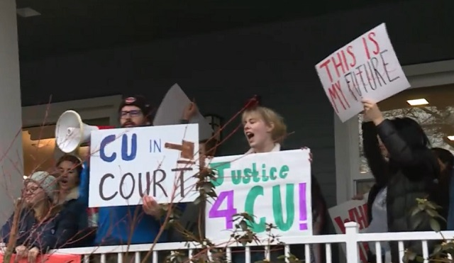 Resultado de imagen para Concordia students hold walkout after sudden closure announcement