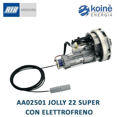 AA02501 JOLLY 22 SUPER CON ELETTROFRENO