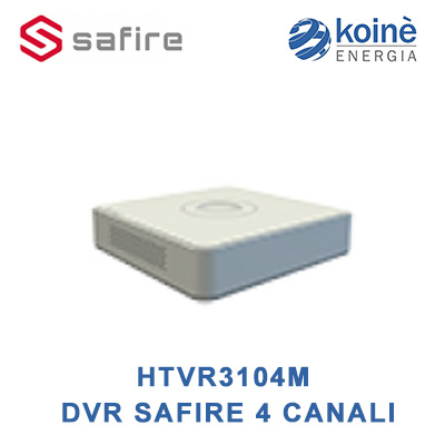 HTVR3104M DVR SAFIRE 4 CANALI