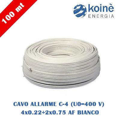 CAVO-ALLARME-C-4-(U0=400-V)-4x0.22+2x0.75