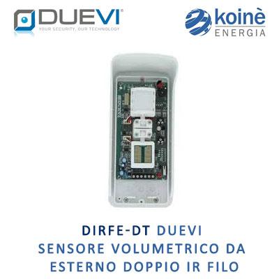DIRFE DT DUEVI SENSORE VOLUMETRICO