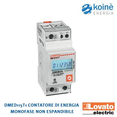 DMED115T1 Lovato CONTATORE DI ENERGIA