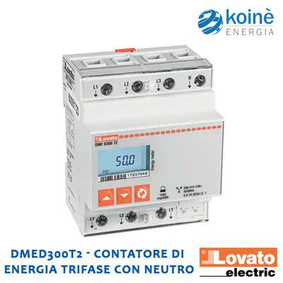 DMED300T2 LOVATO CONTATORE DI ENERGIA
