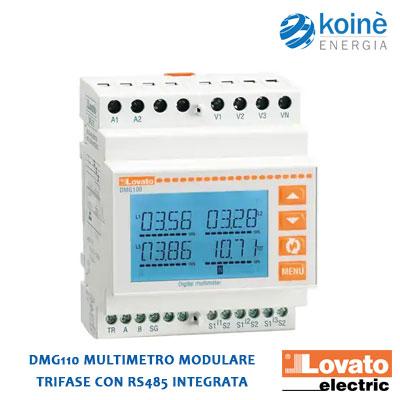 DMG110 LOVATO multimetro modulare