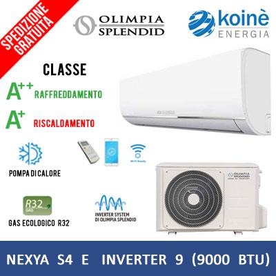 olimpia splendid NEXYA S4 E INVERTER 9