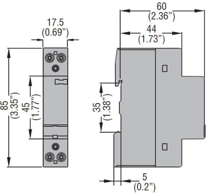 CN2011024 contattore modulare