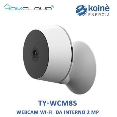 TY-WCM8S homcloud WEBCAM WI FI 2mp
