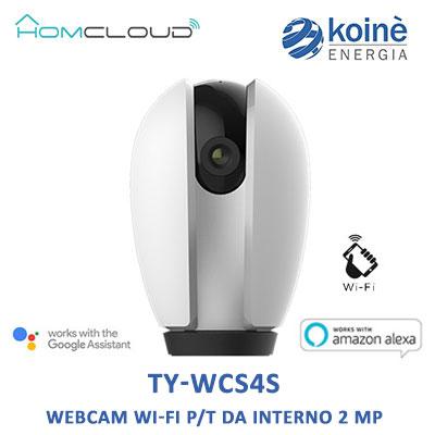 TY-WCS4S WEBCAM WIFI pt 2 MP