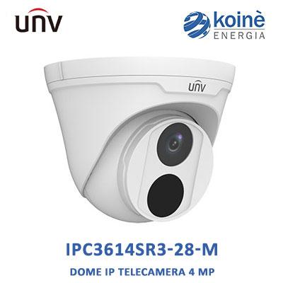 IPC3614SR3-28-M uniview telecamera ip