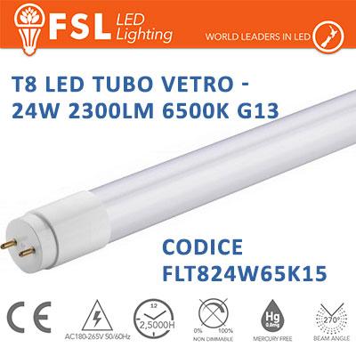 fsl FLT824W65K15 tubo led