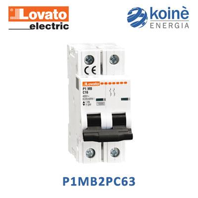 lovato P1MB2PC63