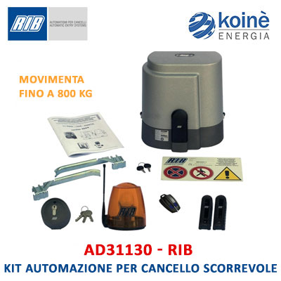 AD31130 kit RIB motore per cancello scorrevole