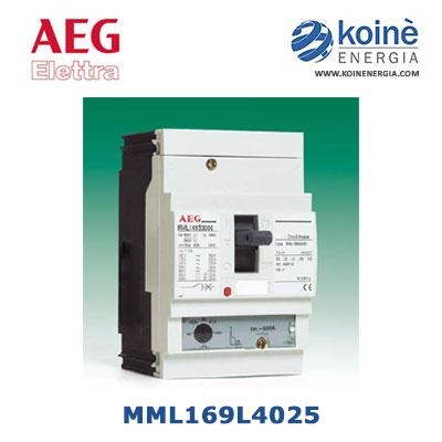 aeg elettra-MML169L4025-interruttore modulare scatolato