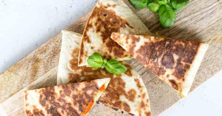 Filmpje: 2 heerlijke quesadilla's op de barbecue