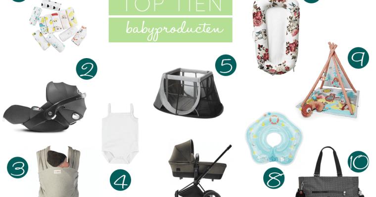 Top 10 must have baby producten