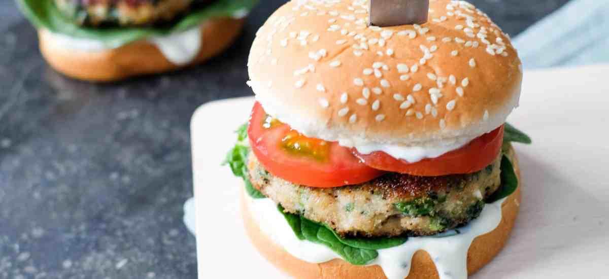 Griekse kipburger