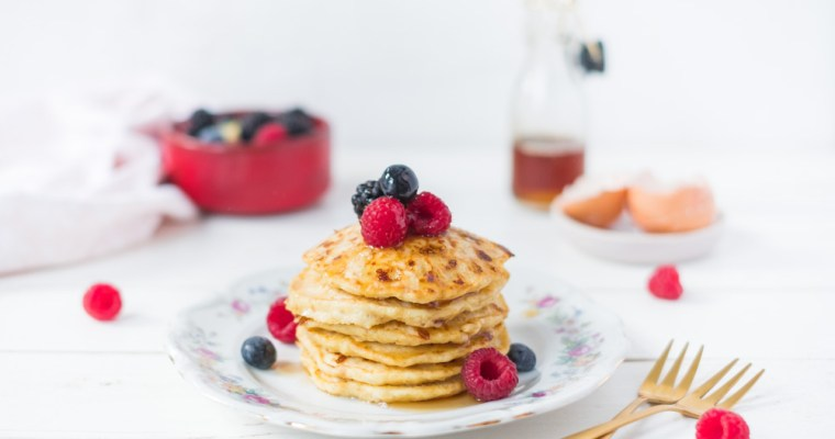 Cottage cheese pannenkoeken