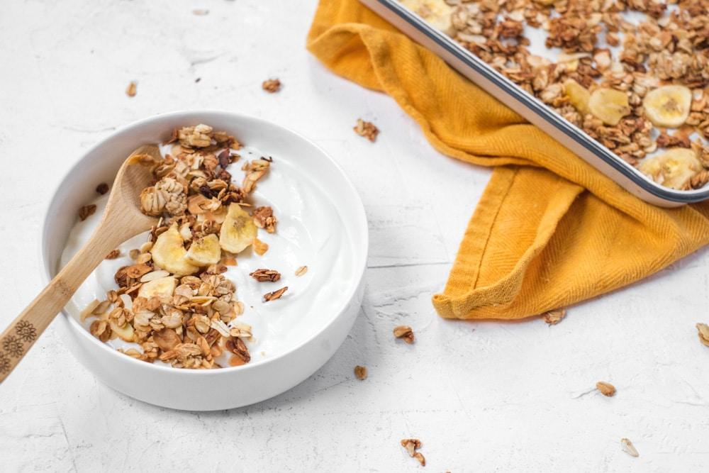 bananenbrood granola