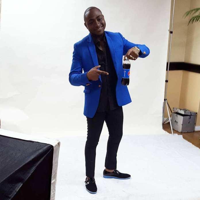 Davido Looks Dapper In New Ad Campaign For Pepsi Nigeria 4