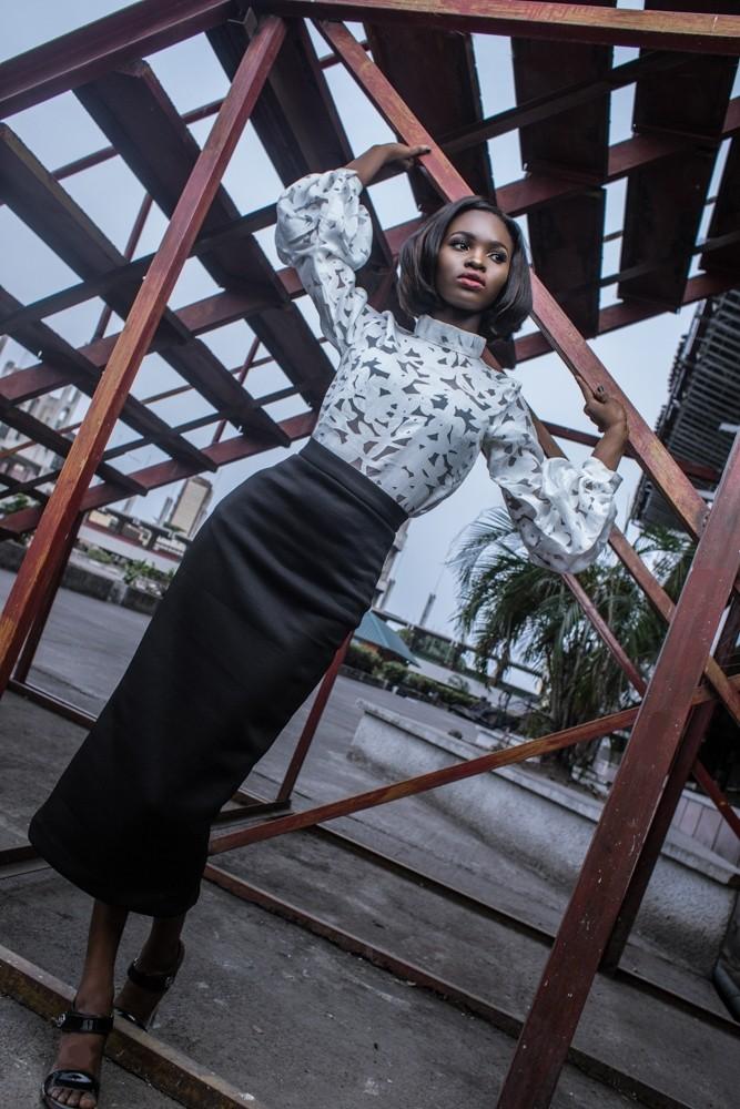 "Fashion Editorial: Lady Biba Presents ""Lady in the City"" Editorial 1"