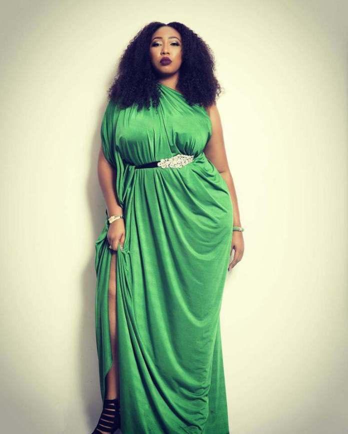 Curvy Style: Latasha Ngwube Serves Body Goals In Wrap Dresses 1