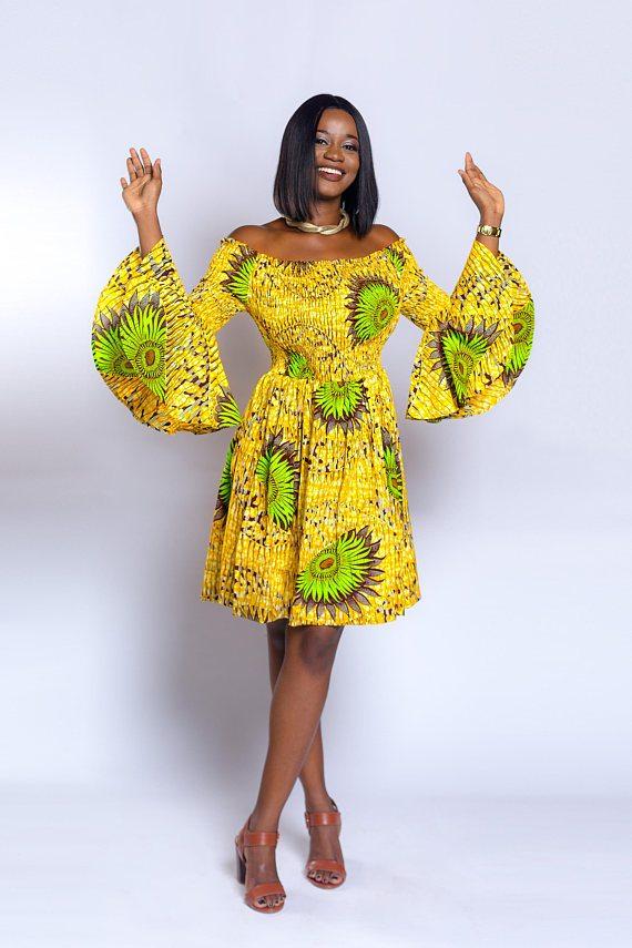 Fashionable African Lace Dresses