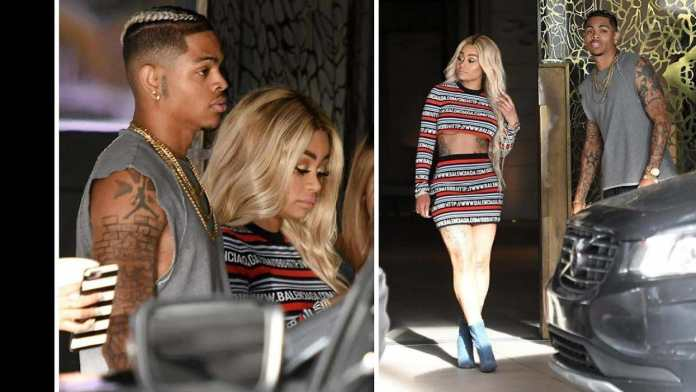 Blac Chyna Reportedly Breaks Up With New Beau...Spotted With Another US Rapper 2