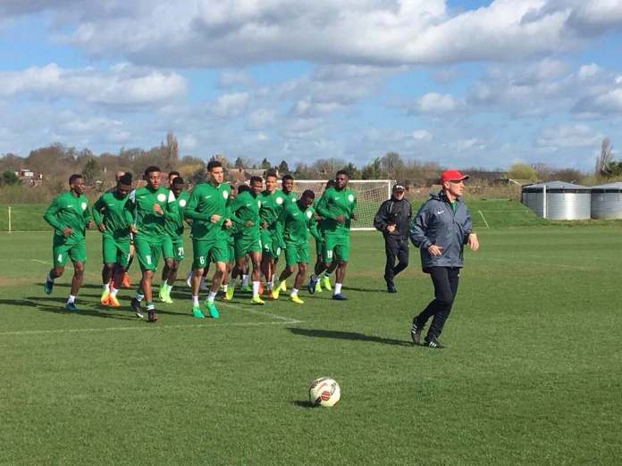 Waiting For Latecomers! Guess How Many Super Eagles Players Has Arrived Uyo Camp Ahead Of The Game Against Zambia 2