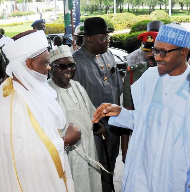 Image result for Sultan of Sokoto tells Buhari