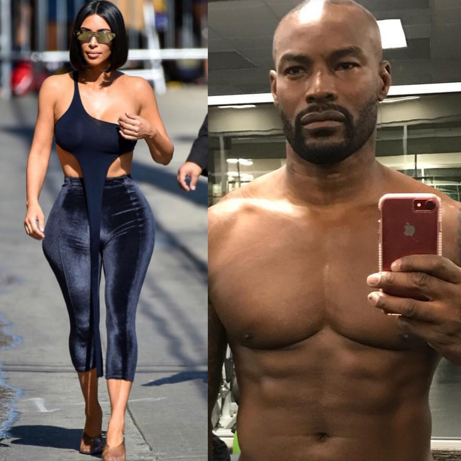 Image result for Kim Kardashian drags Tyson Beckford