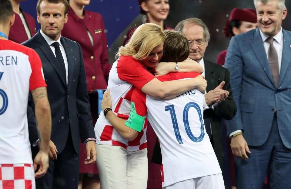 Image result for Kolinda Grabar-Kitarović, world cup 2018
