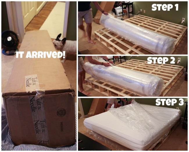 For About 3 Weeks We Had An Awesome Mattress Sitting On A Box Spring The Floor It Reminded Me Of Early Alaska
