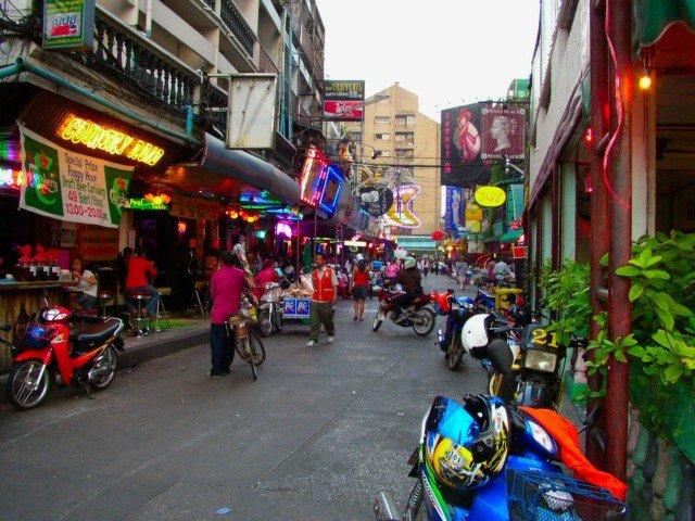 タイの街なみ