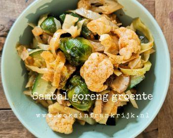 Sambal goreng groente