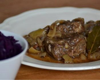 Rundvlees bij de Franse slager