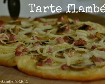 Tarte flambée (flammekueche)
