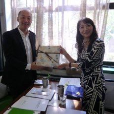 【杉原本部長】中国・大連理工大学へ訪問しました