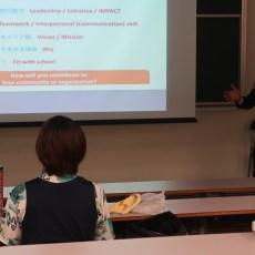 海外の大学院への進学説明会を実施しました
