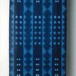 2004 藍染絞布  109×440