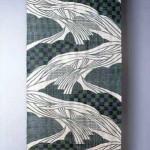 2004 遠望  300×115  絹