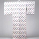 2005 板締絣着物「矢車菊」  着物  絹
